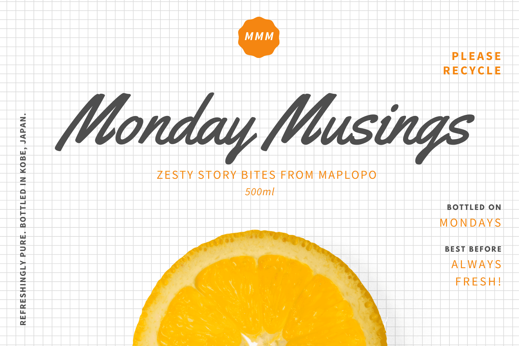 Monday Musings, MAPLOPO