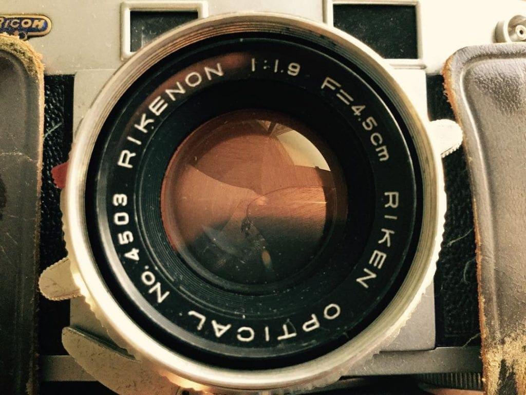 Vintage Dad. Rikenon Optical, Richoh Vintage Camera