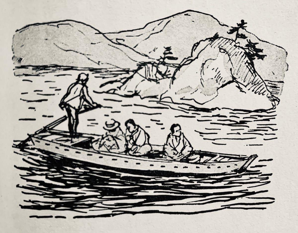 Botchan, Noda, and Redshirt out fishing