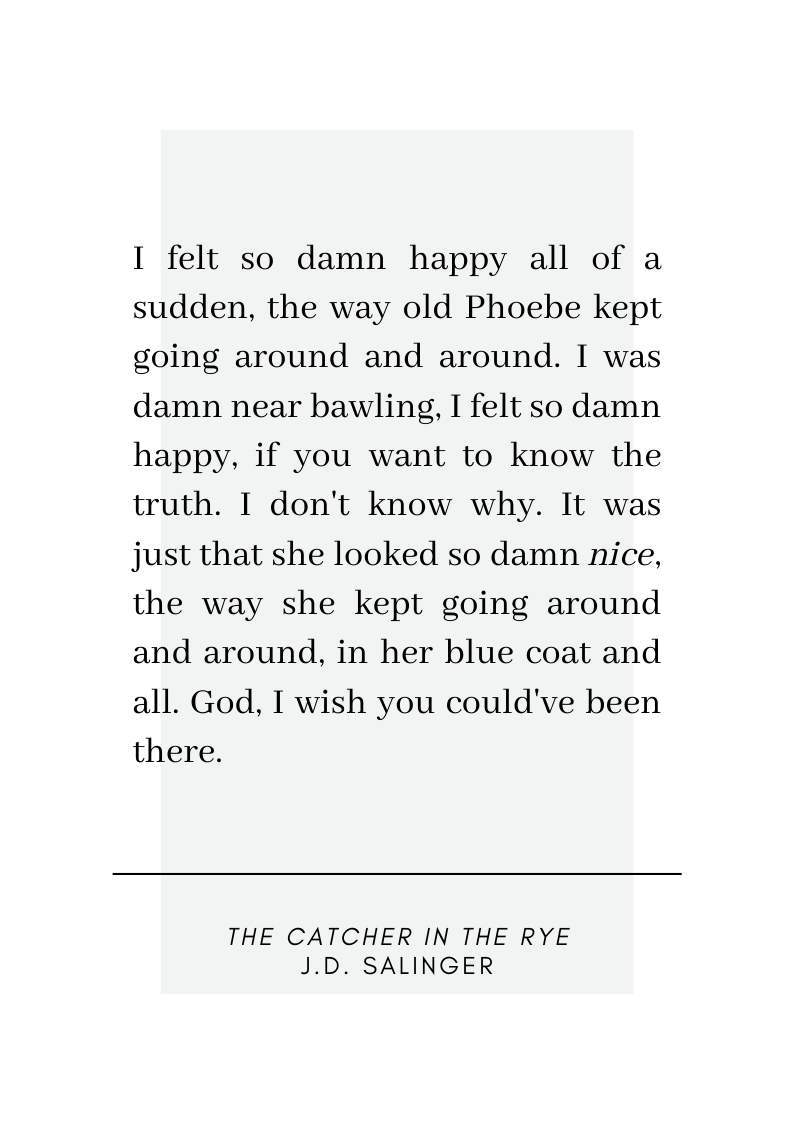 The Catcher in the Rye Quote