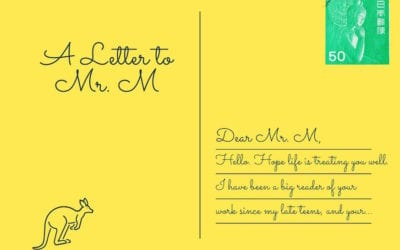 A Letter to Mr. M